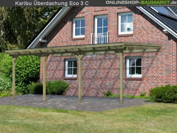Karibu Terrassenüberdachung ECO Modell 3 Größe C