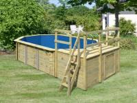 Karibu Pool Modell 4 Variante C
