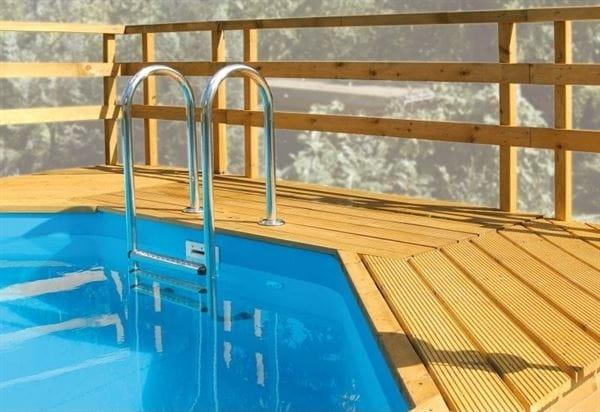 Weka Sonnendeck für Pool 593 B Gr. 2