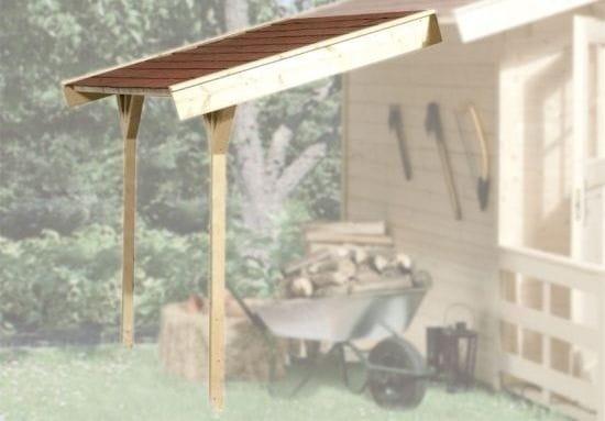 weka schleppdach 19 mm natur. Black Bedroom Furniture Sets. Home Design Ideas