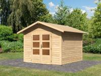 Karibu Woodfeeling Gartenhaus Talkau 6