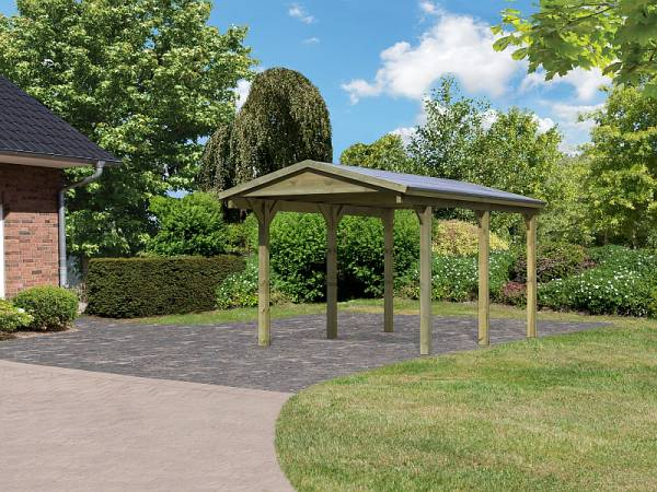 Karibu Classic Carport 1 Satteldach Einzel kdi