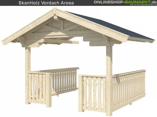 Skan Holz Brüstung für Dachverlängerung Bern / Toronto