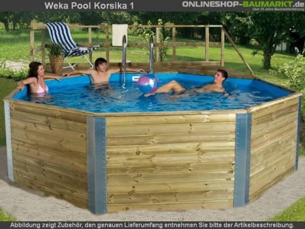 Weka Pool 593 B Gr. 1 mit Edelstahlleiter