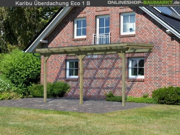 Karibu Terrassenüberdachung ECO Modell 1 Größe B