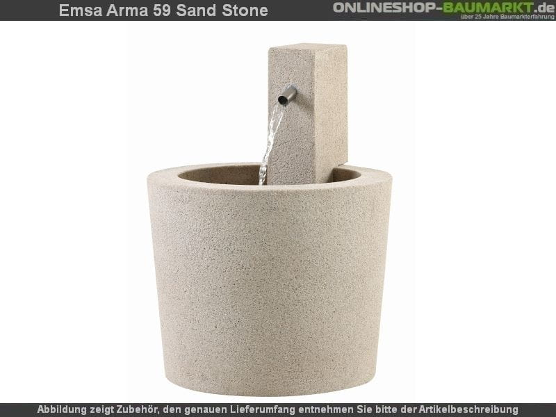 EMSA Esteras Brunnen Arma 59 sand stone
