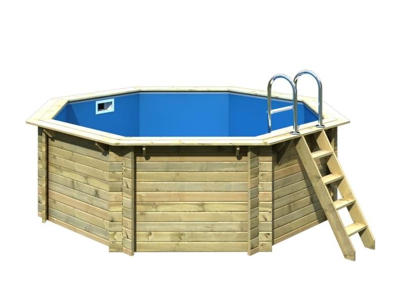 karibu holz pool modell 1 variante a bei osb. Black Bedroom Furniture Sets. Home Design Ideas