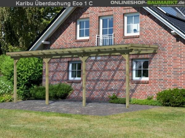 Karibu Terrassenüberdachung ECO Modell 1 Größe C