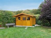 Weka Gartenhaus 109 Gr. 2 Vordach 60 cm
