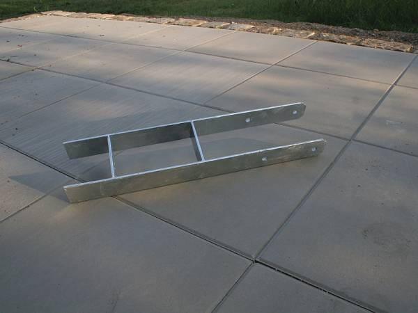 Karibu H-Pfostenanker 12 x 12 x 60 cm 4 St.