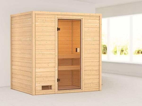 Karibu Woodfeeling Sauna Selena 38 mm