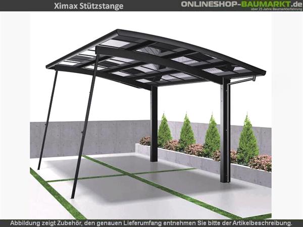 Ximax Stützstange Edelstahl-Look