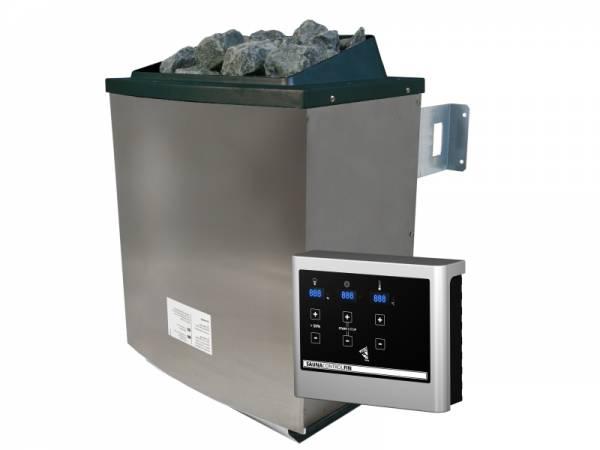 Karibu Saunaofen 9,0 kW externe Steuerung Easy mit Steinen