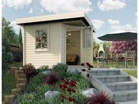 Weka Gartenhaus 5-Eck-Haus 213 Gr 2 natur
