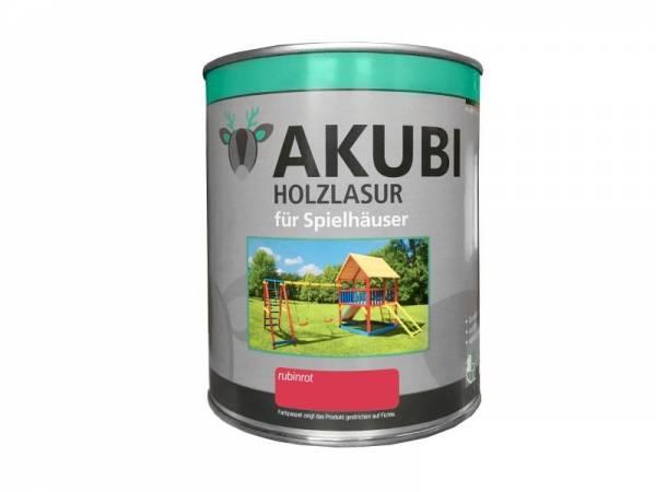 Akubi Farbe Rubinrot 750 ml
