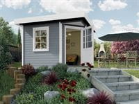 Weka Gartenhaus 213 Plus Gr 1 grau