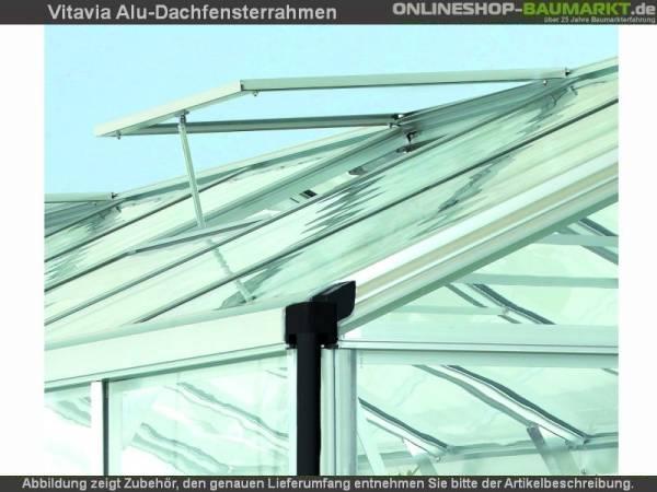 Vitavia Alu-Dachfenster ohne Verglasung blank-eloxiert