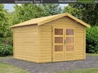 Karibu Woodfeeling Gartenhaus Tastrup 7
