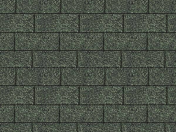 Karibu Dachschindeln Rechteck dunkelgrün