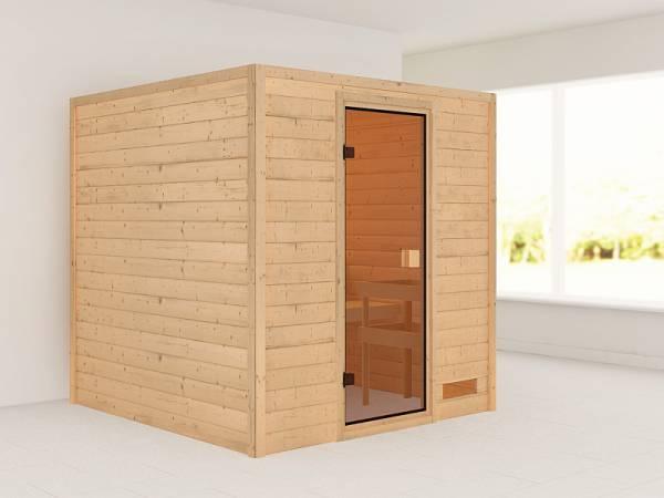 Karibu Woodfeeling Sauna Jara 38 mm