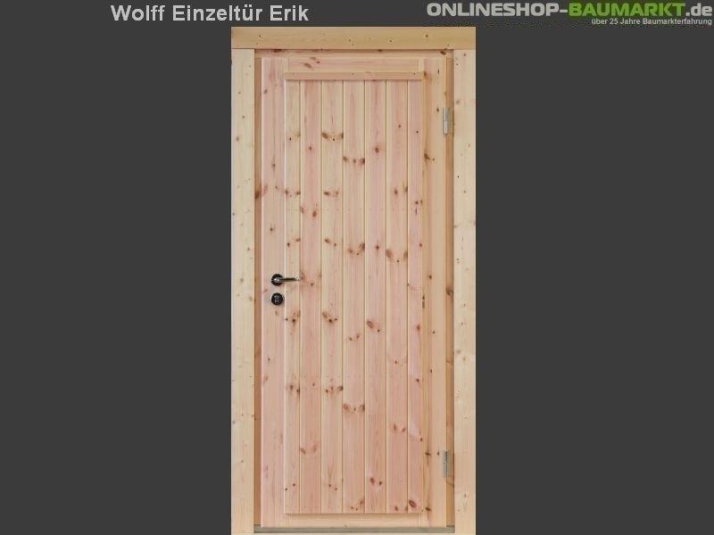 Wolff Finnhaus Einzeltür Erik 58