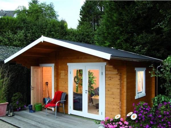 Wolff Finnhaus Gartenhaus Caro 58-B Modern ISO