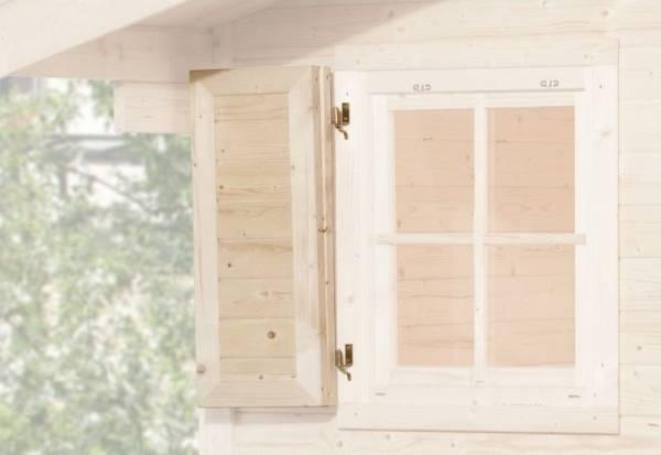 Weka Fensterladen 1-seitig für Fenster 69 x 79 cm