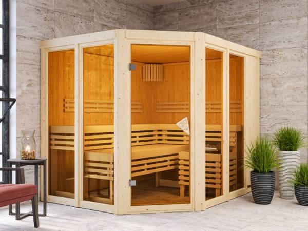 Karibu Sauna Ainur ohne Ofen 68 mm
