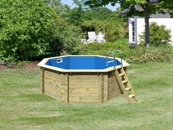 Karibu Pool Modell 1 Variante A im Sparset Komfort