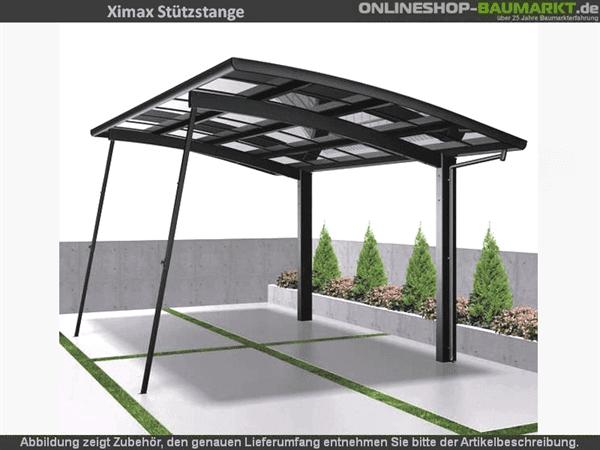 Ximax Stützstange schwarz
